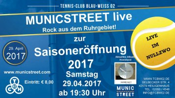 Municstreet Live am 29.04.